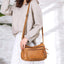 Obangbag Women Retro Daily Vintage Multi Pockets Roomy Soft Leather Shoulder Bag Crossbody Bag for Work