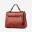 Obangbag Women Vintage Professional Multi Pockets Multifunction Leather Handbag Crossbody Bag for Work