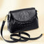 Obangbag Women Vintage Retro Chic Stylish Crocodile Leather Crossbody Bag Shoulder Bag