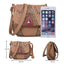 Obangbag Women Vintage Retro Cute PU Leather Crossbody Bag Shoulder Bag
