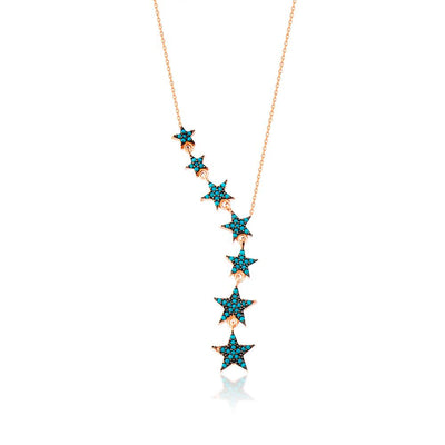 Stars Silver Necklace