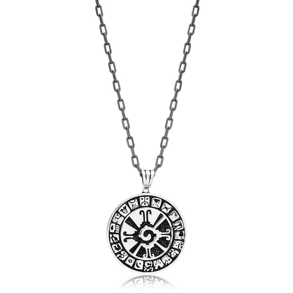 Mayan Symbol Necklace