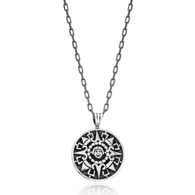 Mayan symbols Necklace