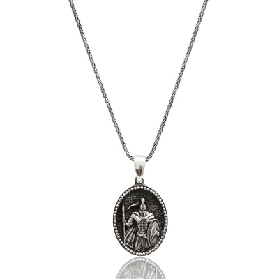 Knight Silver Necklace