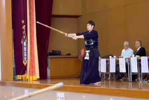 [SPOTLIGHT] - Takanabe Sensei Demonstrates Suburi and Jigeiko!
