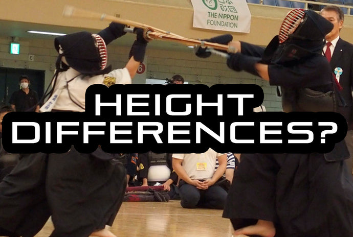 [KENDO RANT] - Height Differences? Grading vs. Jodan?