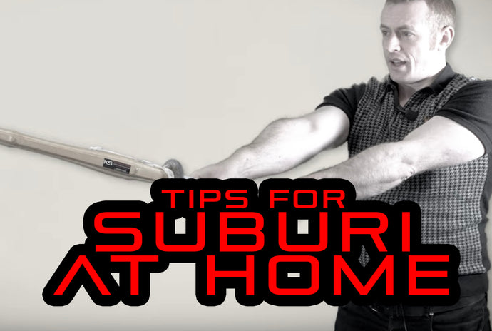 [VIDEO] - Tips for Kendo Suburi at Home