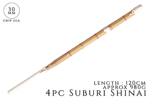 4 Piece Heavy Suburi Shinai