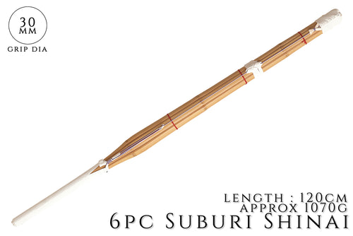 6 Piece Heavy Suburi Shinai