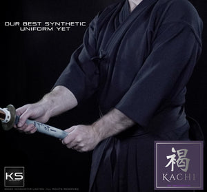 *NEW FOR 2021* - 'KACHI' - Elite Featherweight Kendogi & Pleat-Lock Hakama Uniform Set