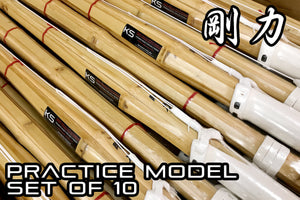 *LIMITED BUNDLE DEAL 60% OFF* - Practice Shinai 'GOURIKI' - Set of 10
