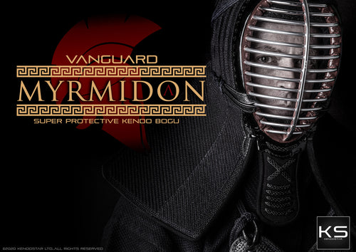 *NEW & IMPROVED* - 'VANGUARD MYRMIDON' Super Protective GUARD-STITCH KendoStar Bogu Set