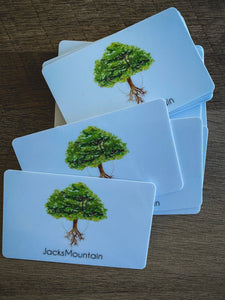 Jacks Mountain Self-Care Co. gift card