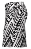 Allie Burke Abstract Houndstooth Print Pull On Golf Skort