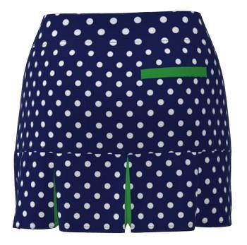 BACK PLEAT GOLF SKORT-NPD