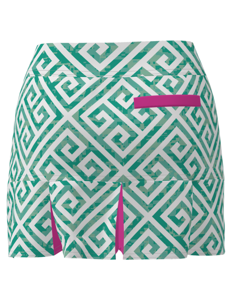 BACK PLEAT GOLF SKORT-17""