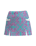 AB Sport Women's Kick Pleat Golf Skort  GEOMC - ABSport