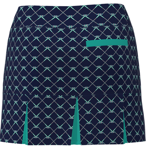 AB SPORT Women's Back Pleat Golf Skirt - GC1A
