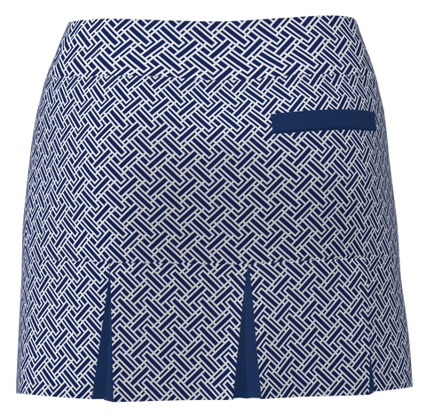 AB SPORT Women's Back Pleat Golf Skirt - GEO4NSN