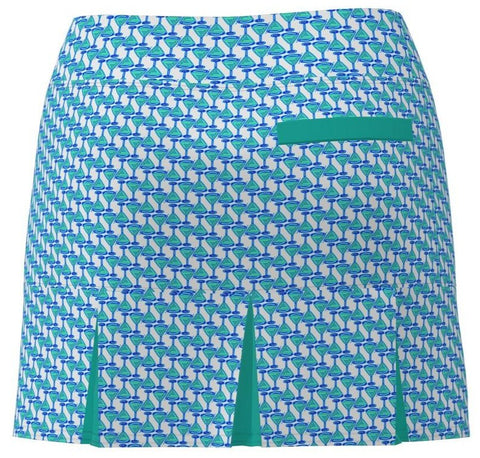 AB SPORT Women's Back Pleat Golf Skirt - MART1H