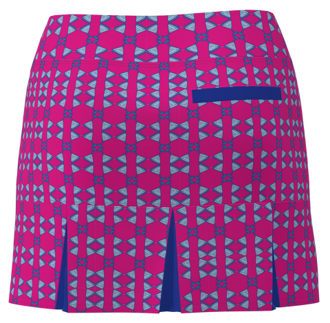 AB SPORT Women's Back Pleat Golf Skirt - MART4JS