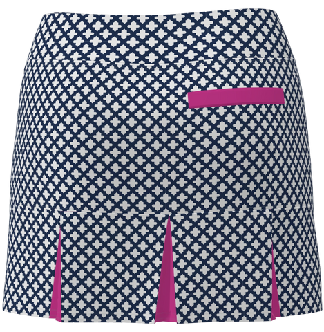 AB SPORT Women's Back Pleat Golf Skirt - MOSWNW