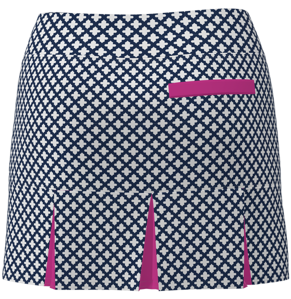 AB SPORT Women's Back Pleat Golf Skirt  -MOSWNS