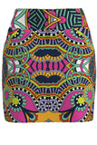 Carnival Print Pull On Golf Skirt - Regular Length