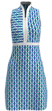 Allie Burke Basketweave Print Golf Dress