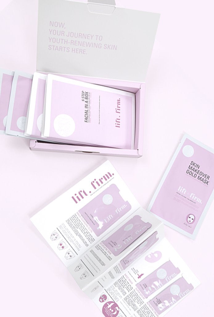 LIFT + FIRM Facial In A Box - 3 Pack