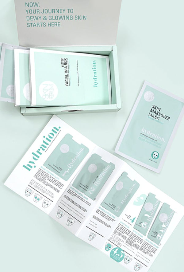 HYDRATION  Facial In A Box - 3 Pack