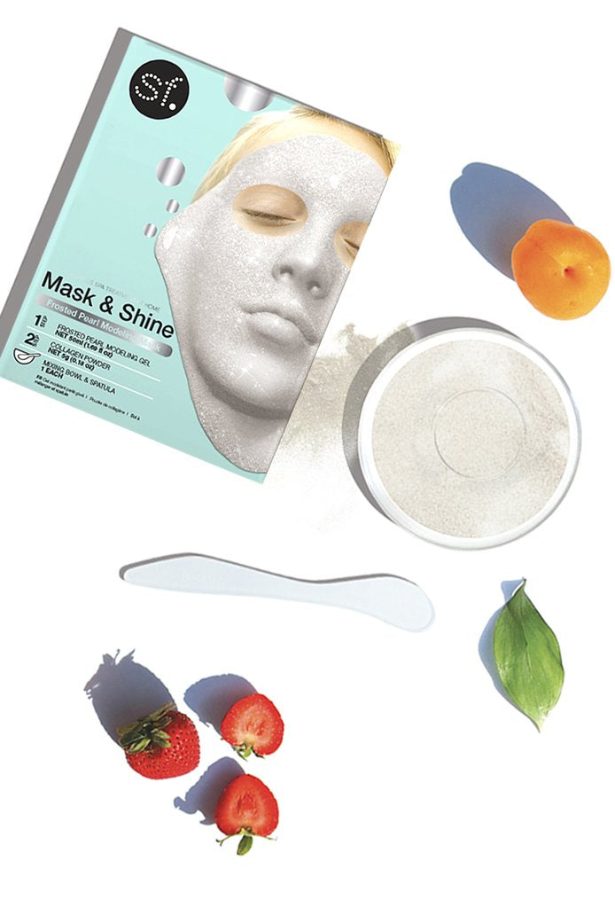 Mask & Shine Frosted Pearl Modeling Mask