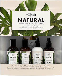 Natural mHealthy Hair Travel Styling Kit