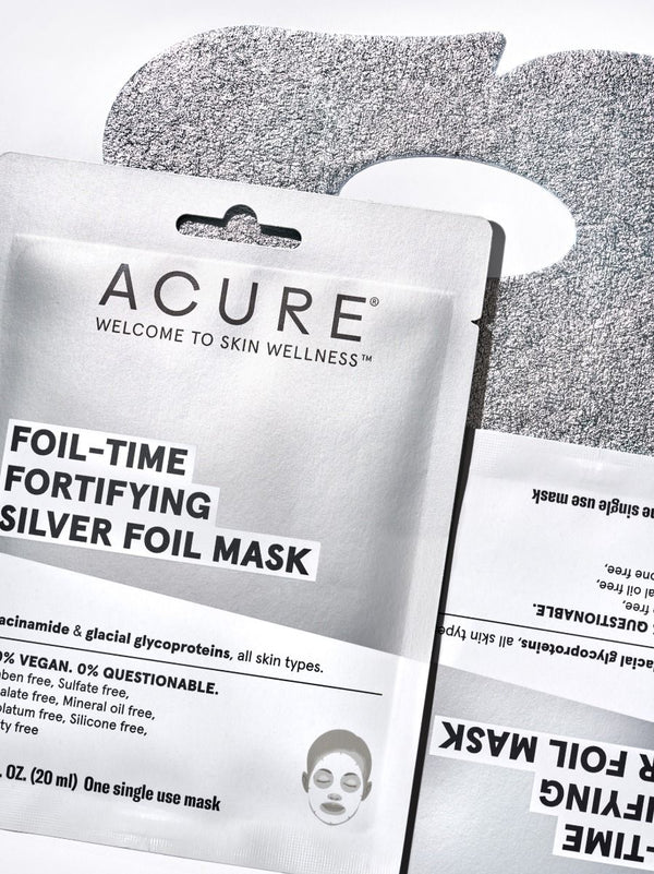 Fortifying Silver Foil Mask