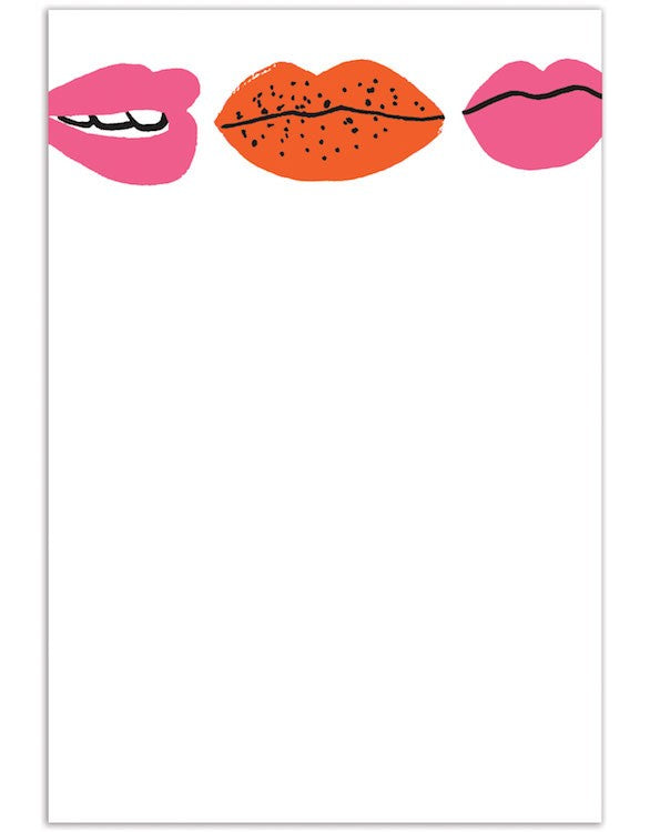 Note Cards 8 Pack - Lips