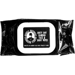 Dirty Boy Bamboo Face And Body Wipes