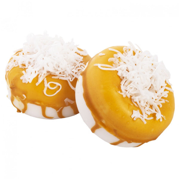 Mango Coconut Donut Soap