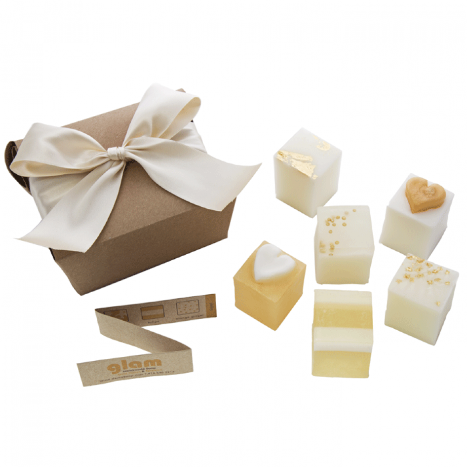 Glam Soap Box Gift Set