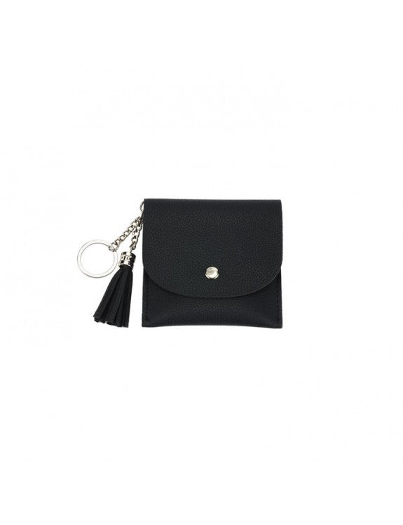 vegan leather key chain