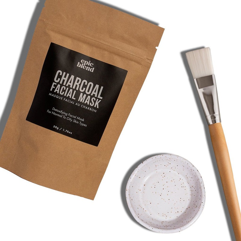 Charcoal Facial Mask Kit