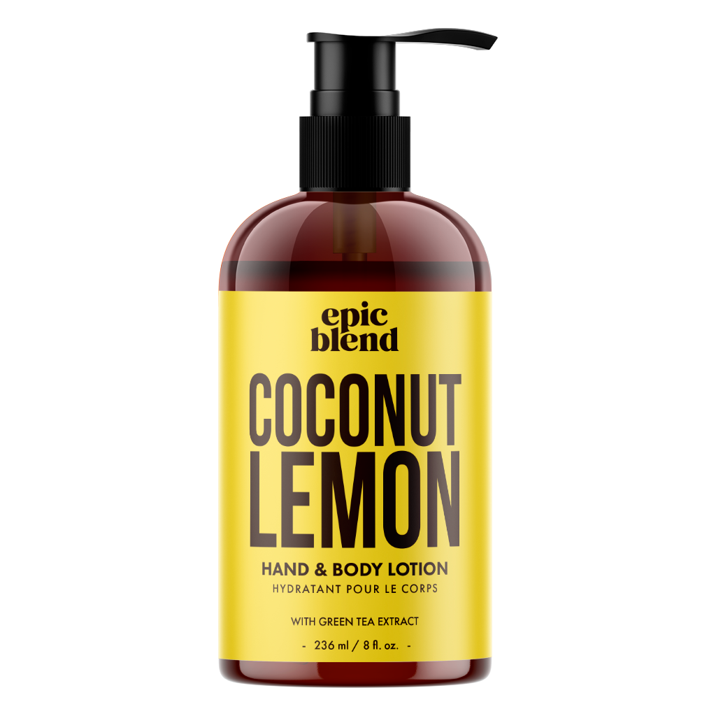 Coconut Lemon Hand and Body Lotion