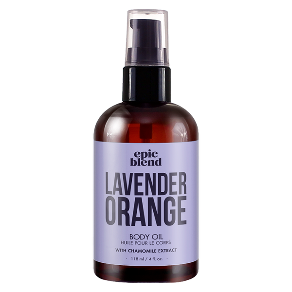 Lavender Orange Body Oil