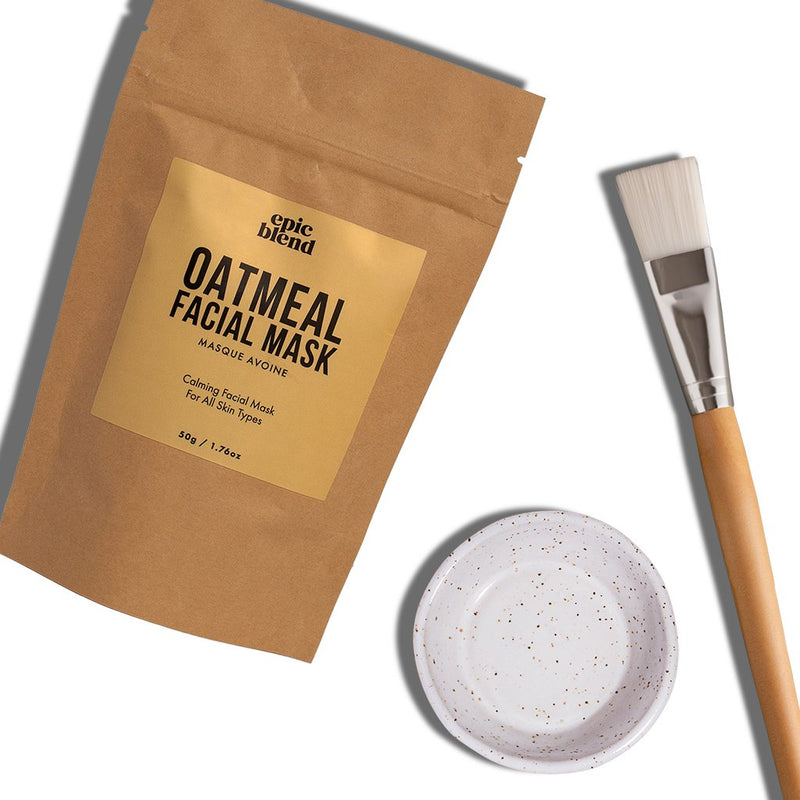 Oatmeal Facial Mask Kit