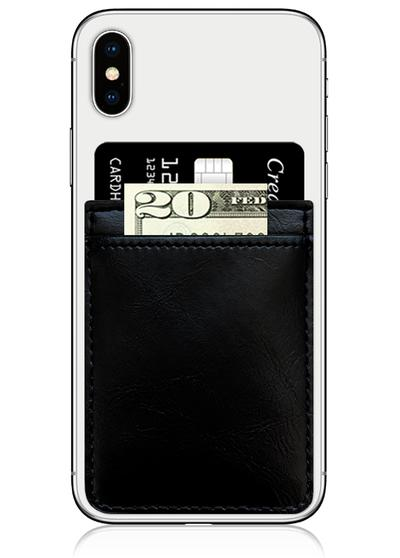 Faux Leather Phone Pocket
