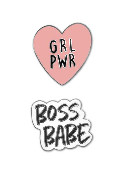 Girl Power Phone Charms