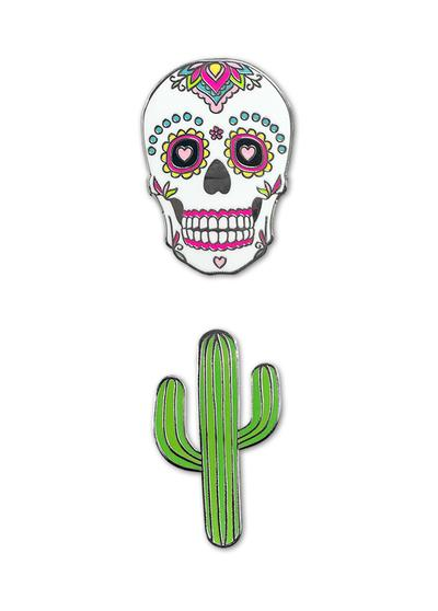 Sugar Skull Phone Charms