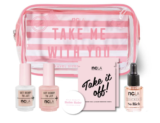 Take Me With You Travel Set - Pink