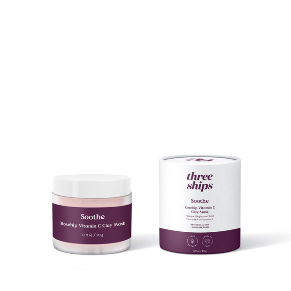 Soothe Rosehip Vitamin C Clay Mask