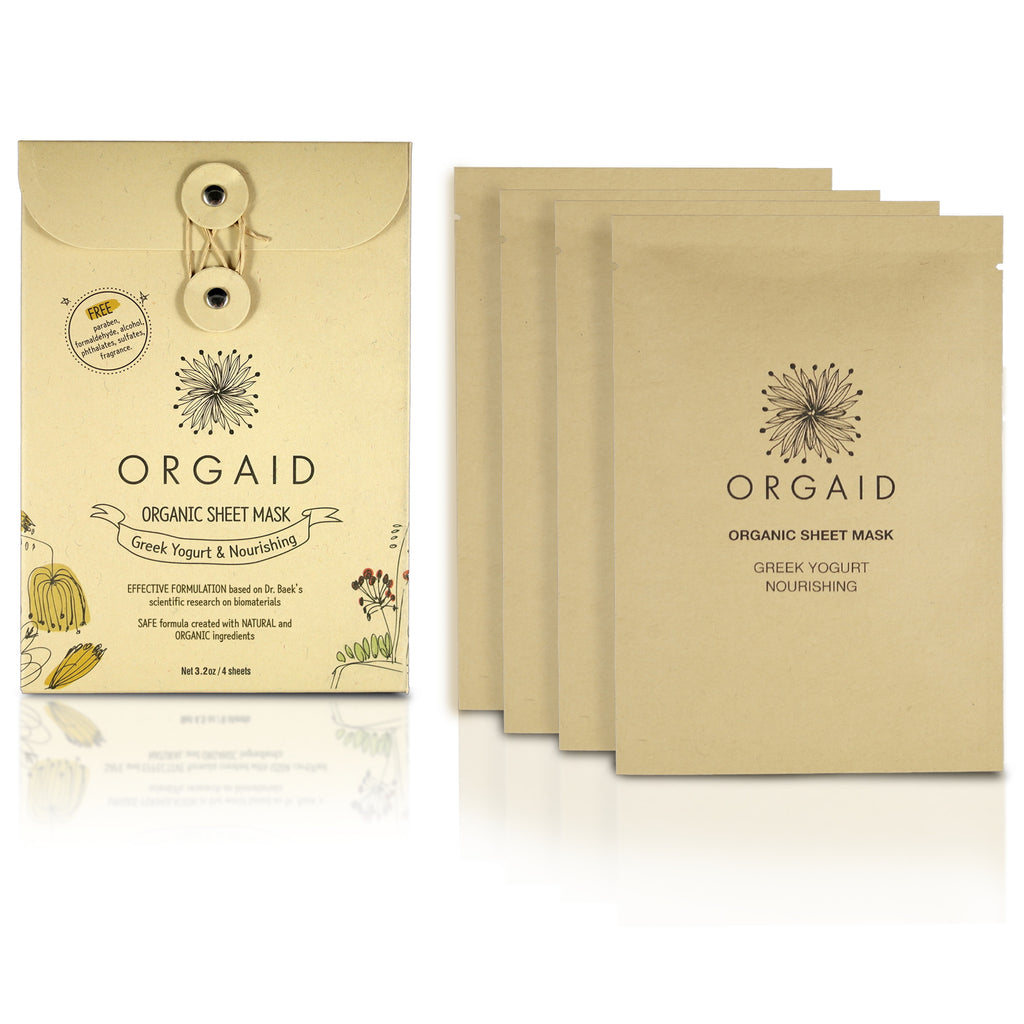 GREEK YOGURT & NOURISHING ORGANIC SHEET MASK BOX SET