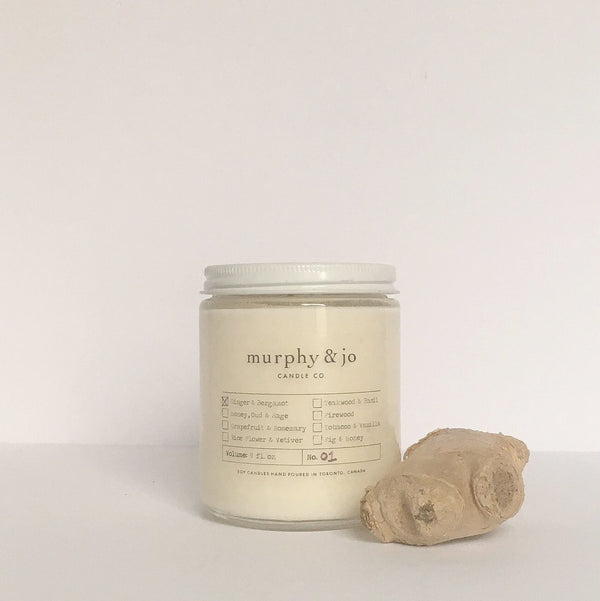 Ginger & Bergamot Candle